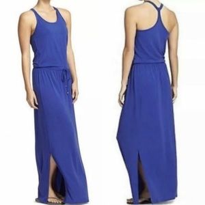 Athleta Cressida Built-in Bra Drawstring MaxiDress